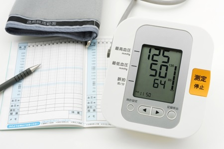 家庭用上腕血圧測定器