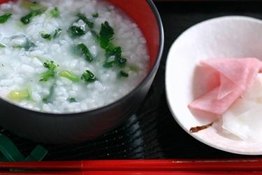 七草粥の写真画像