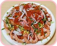 ひな祭りちらし寿司c