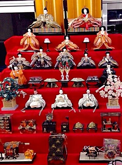 雛人形の段飾りA