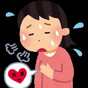 心臓の位置と心筋梗塞E