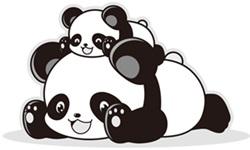 パンダはなぜ白黒模様J