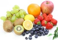 頭のいい子に育てる食べ方果物イラスト