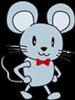 認知症予防・運動の効果ネズミのイラスト