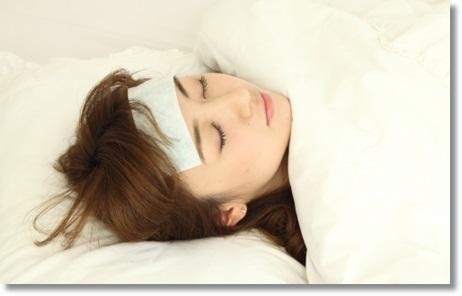 インフルエンザで重症化した女性