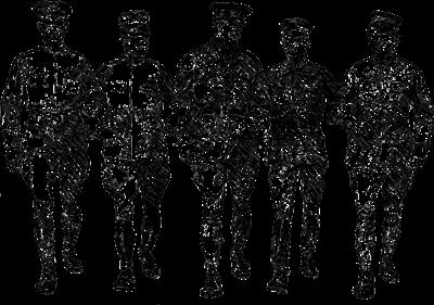 軍の幹部達