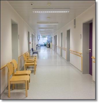 病院の廊下A