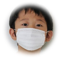 マスクの男の子A