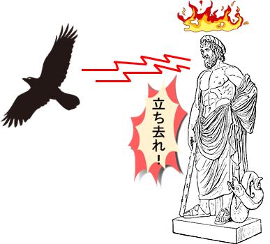 ギリシャ神話の白いカラスとアポロン
