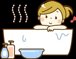ノロウイルス時の入浴