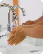 手洗いの写真B