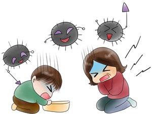 ノロウイルス潜伏期間の画像