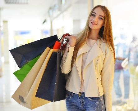 ADHDの女性の衝動買いのイメージ画像