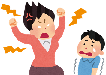 子供を叱りすぎる母親