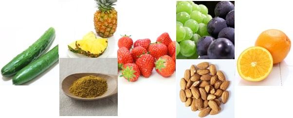 サルチル酸塩を多く含む食品