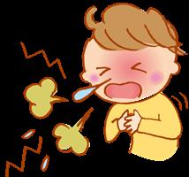 咳と鼻水が出る人