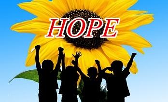 希望を持って