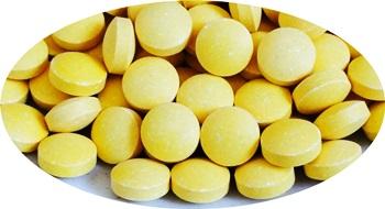 ビタミンCの錠剤の画像A