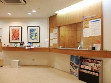 病院の受付の風景