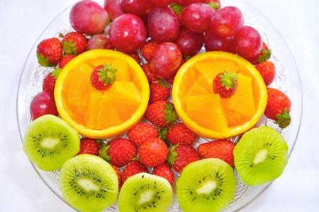 シミ予防に効果的な食材盛り合わせ