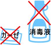 湿潤療法の基本のイラスト