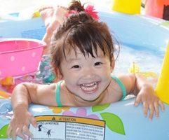 子供の日焼け後の処置と予防対策のアイキャッチ画像