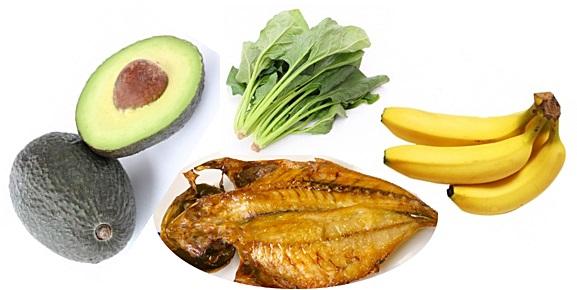 カリウムを沢山含む食べ物の画像