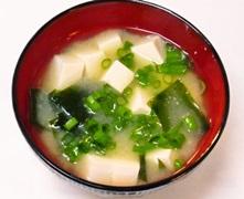 味噌汁の画像
