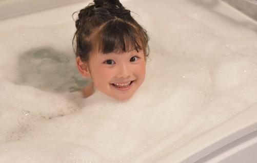 お風呂でインフルエンザに感染のイメージ画像A