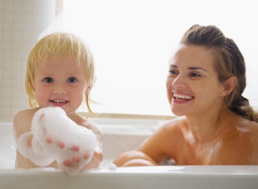 有料写真インフルエンザでお風呂のイメージ画像